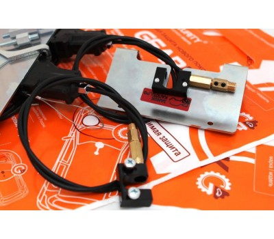 Блокиратор КПП и замок КАПОТА GearLock complex электромех. (модельный)