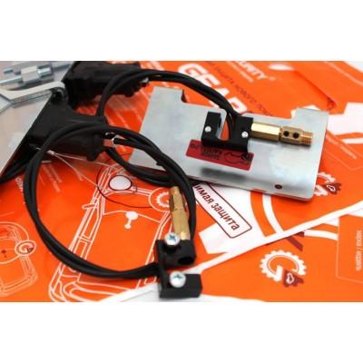 Блокиратор КПП и замок КАПОТА GearLock complex электромеханический (модельный)