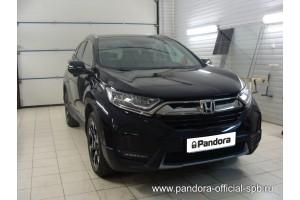 Установка Pandora/Pansect на Honda CR-V