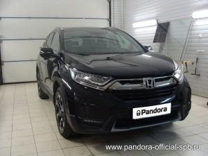 Установка противоугонных систем Pandora/Pandect на автомобиль Honda CR-V