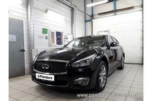 Установка Pandora/Pansect на Infiniti Q70