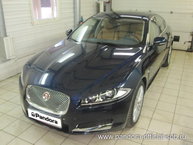 Установка противоугонных систем Pandora/Pandect на автомобиль Jaguar