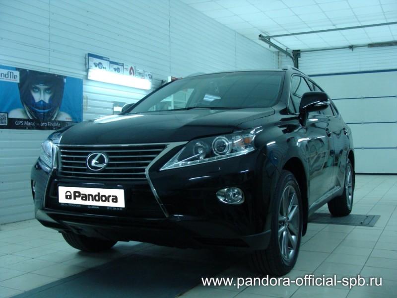 Установка противоугонных систем Pandora/Pandect на автомобиль Lexus RX 1