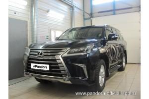Установка Pandora/Pansect на Lexus LX 3