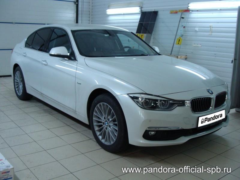 Установка противоугонных систем Pandora/Pandect на автомобиль BMW 3