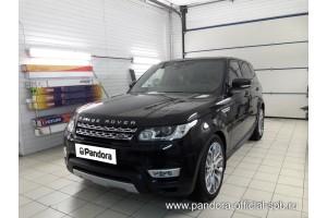 Установка Pandora/Pansect на Land Rover Range Rover Sport