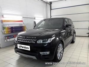 Установка противоугонных систем Pandora/Pandect на автомобиль Land Rover Range Rover Sport