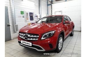 Установка Pandora/Pansect на Mercedes-Benz GLA