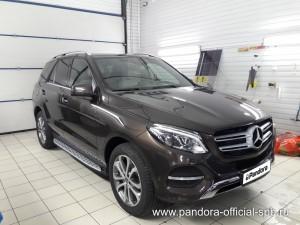 Установка противоугонных систем Pandora/Pandect на автомобиль Mercedes-Benz ML