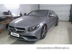 Установка противоугонных систем Pandora/Pandect на автомобиль Mercedes-Benz AMG 63