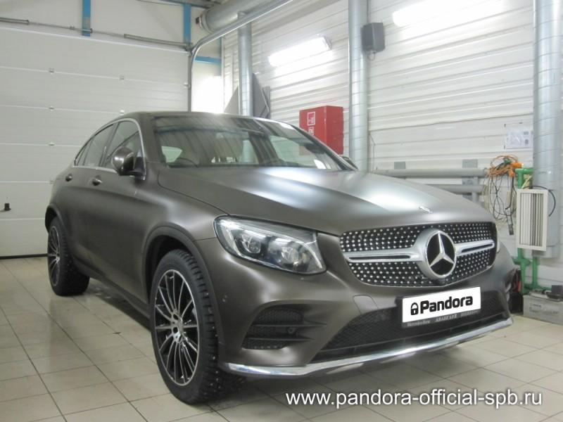 Установка противоугонных систем Pandora/Pandect на автомобиль Mercedes-Benz GLC
