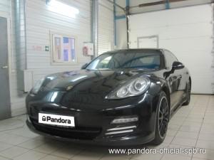 Установка противоугонных систем Pandora/Pandect на автомобиль Porsche Panamera