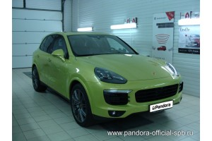 Установка Pandora/Pansect на Porsche Cayenne