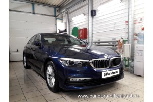Установка Pandora/Pansect на BMW 5