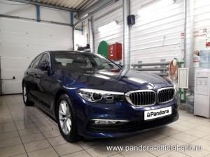Установка противоугонных систем Pandora/Pandect на автомобиль BMW 5
