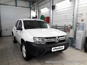 Установка противоугонных систем Pandora/Pandect на автомобиль Renault Duster