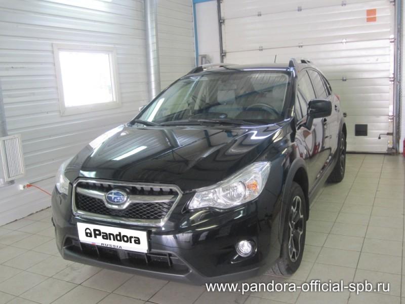 Установка противоугонных систем Pandora/Pandect на автомобиль Subaru VX