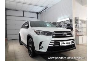 Установка Pandora/Pansect на Toyota Highlander
