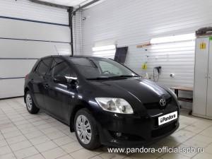 Установка противоугонных систем Pandora/Pandect на автомобиль Toyota Yaris