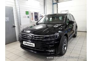 Установка Pandora/Pansect на Volkswagen Tiguan