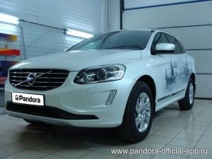 Установка противоугонных систем Pandora/Pandect на автомобиль Volvo XC 60