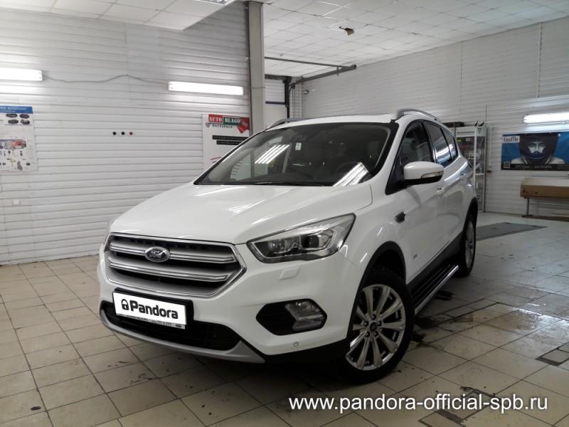 Установка противоугонных систем Pandora/Pandect на автомобиль Ford Kuga